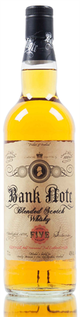 Bank Note Blended Scotch Whiskey 5 Year
